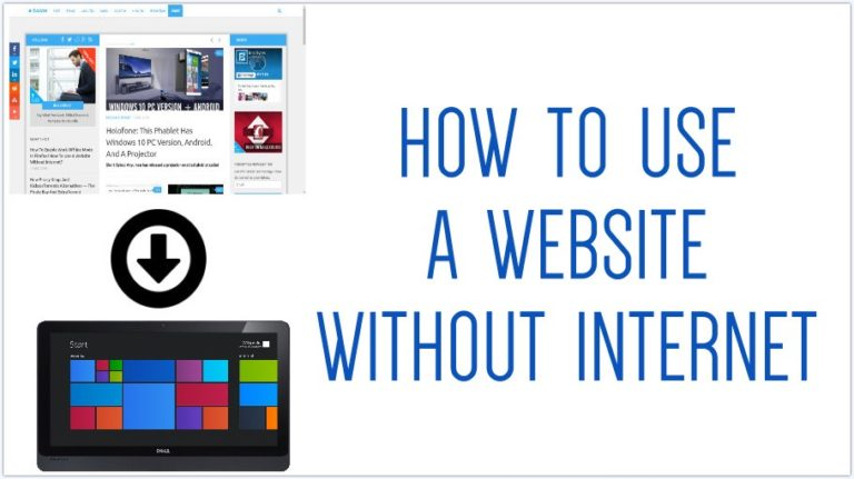 How to download a website on your Windows PC?