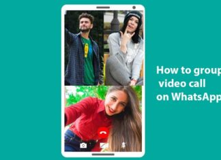 How to group the video call on WhatsApp