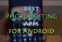 Download Best Apps to Edit photos on Mobile