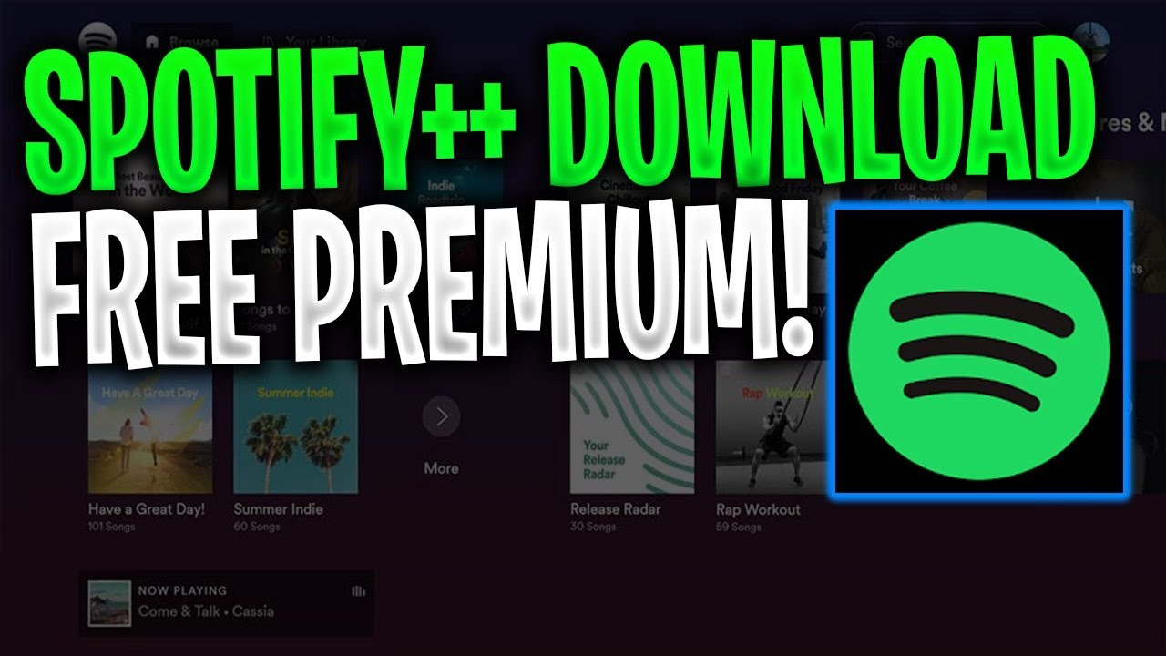Download Spotify ++ for iOS and Android