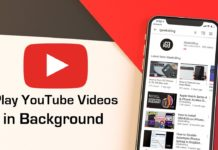 How to Play YouTube videos in the Background
