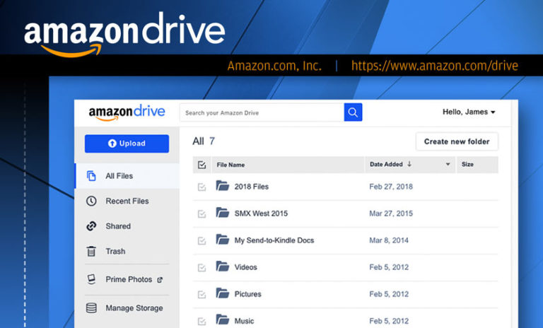 Amazon Drive: A Free cloud for Amazon Prime Subscriber