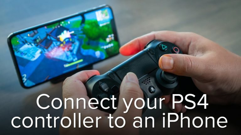 How to Connect PS4 Controller to the iPhone