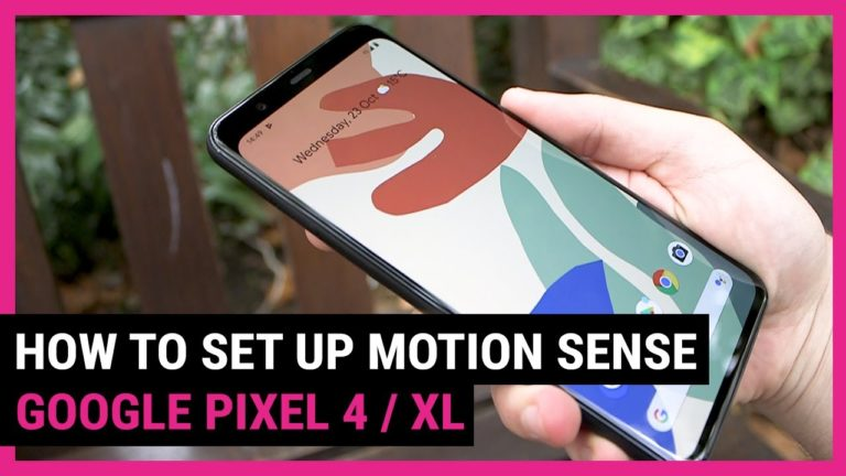 How to Use Motion Sense on your Google Pixel 4