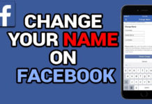Facebook: How to Change Your Name on the Social Network