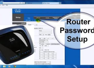 How to recover the forgotten password of the router