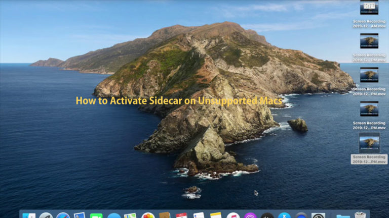 How to Activate Sidecar on Unsupported Macs