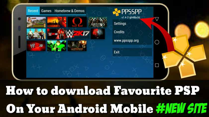 Top 5 Sites to download PSP Games for Free for PPSSPP Emulator