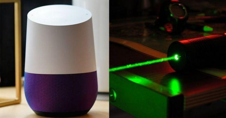 How to Hack a Smart Speaker using a Laser Pointer