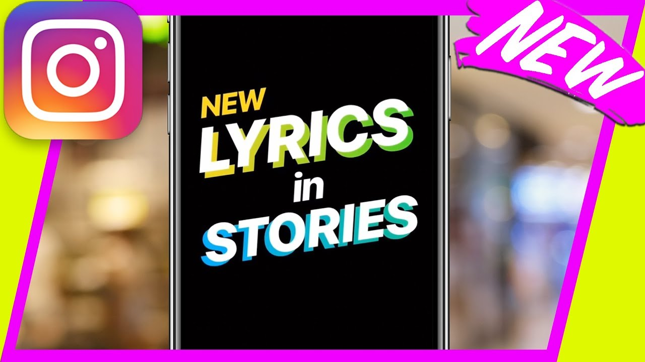 How to Show Song Lyrics in Instagram Stories