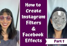 How to create filters for Instagram and Facebook