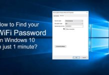How to Find WiFi Passwords Saved Without Software in Windows
