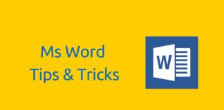 Best Tips and Tricks for Using Microsoft Word 2016/2013 like a Pro