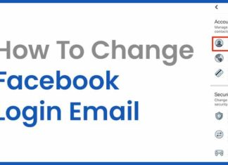 How to Change and Remove Facebook E Mail?
