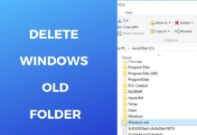 How to Delete Windows.old?