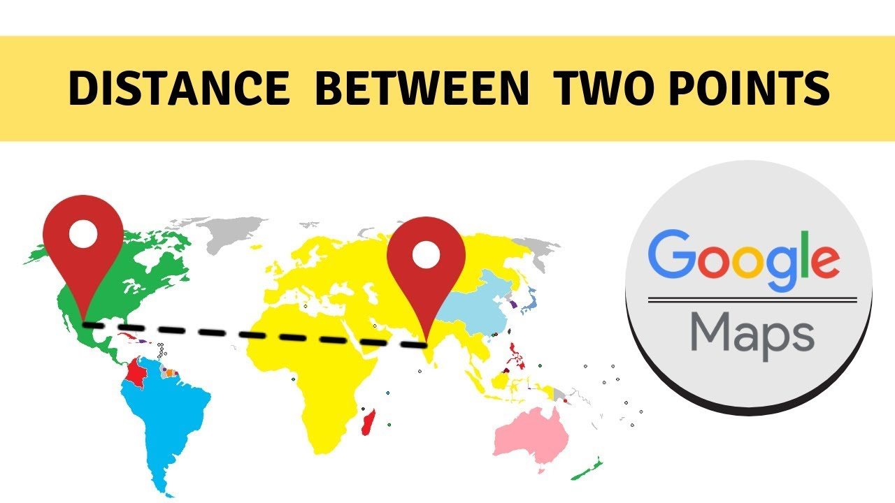 Measure the Google Maps Distance Between Two Points