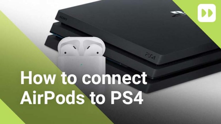 How to Connect the AirPods to the PlayStation 4