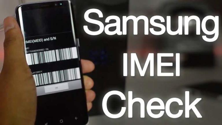 Here is How to Check Samsung IMEI