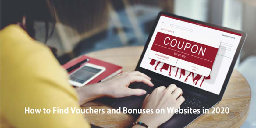 How to Find Vouchers and Bonuses on Websites in 2020