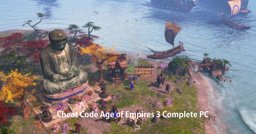 Cheat Code Age of Empires 3 Complete PC