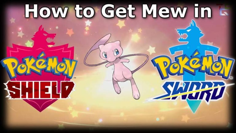 """How to Get Mew in """"Sword and Pokémon Shield"""""""