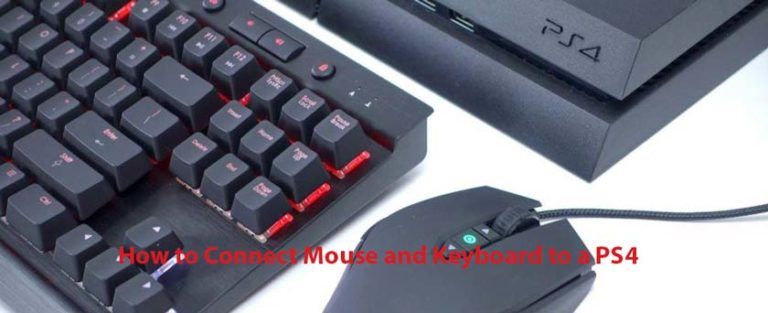 How to Connect Mouse and Keyboard to a PS4