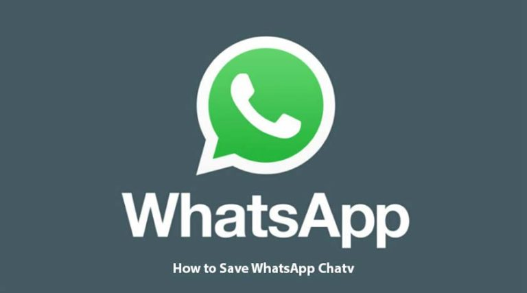 How to Save WhatsApp Chat