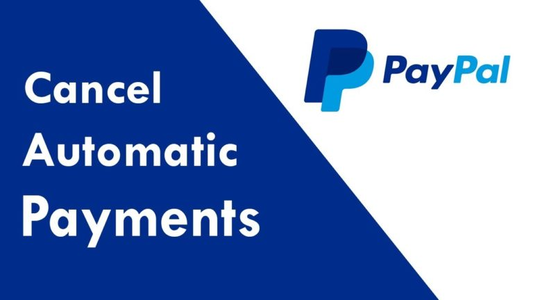 How to Cancel PayPal Recurring Payments?