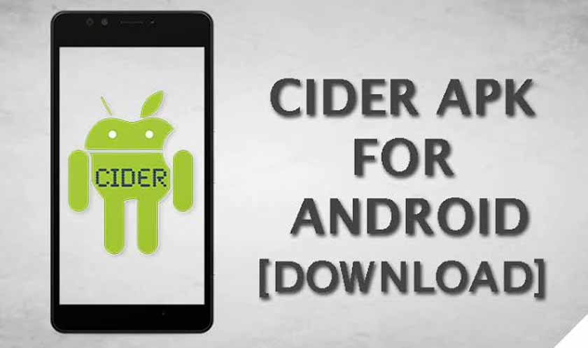 Download Cider Apk the latest version of 2020