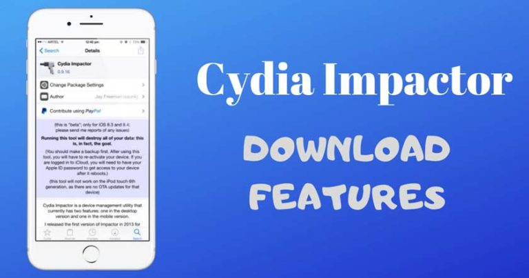 How to Download and Use Cydia Impactor on Windows / Mac