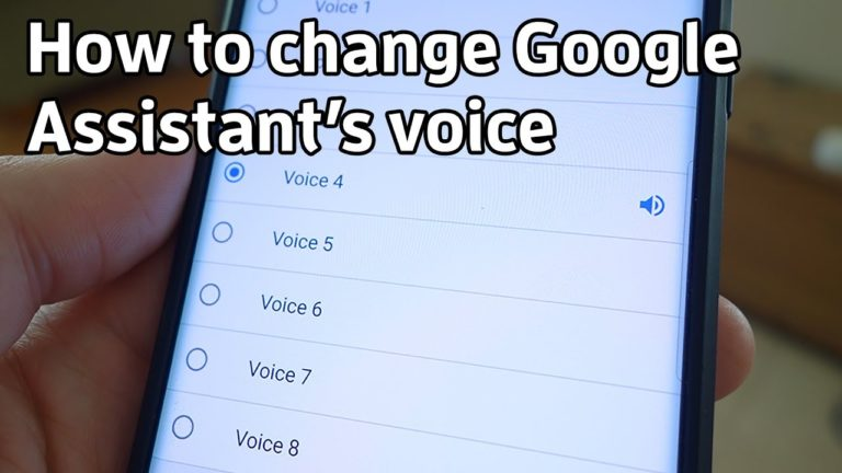 How to Change Google Voice Assistant