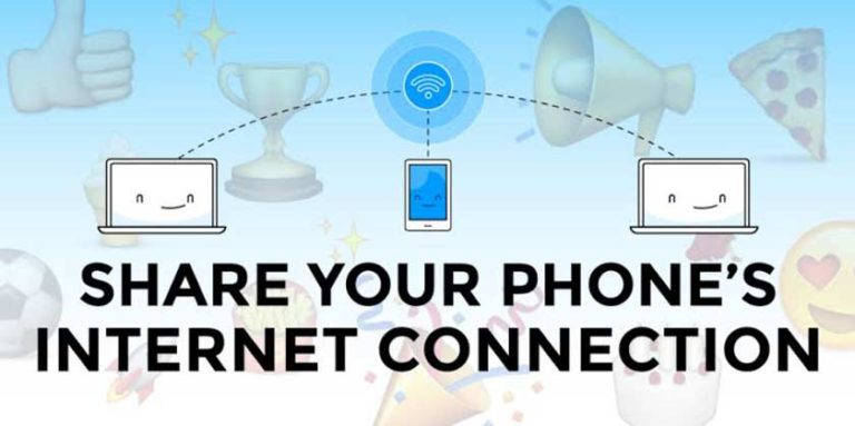 How to Share the Internet Connection on Smartphone