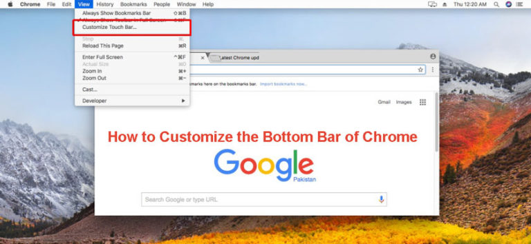 How to Customize the Bottom Bar of Chrome
