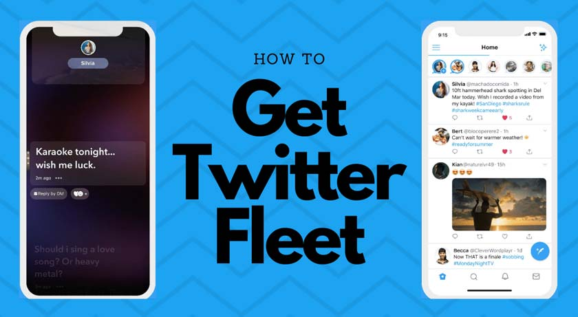 How to Use Twitter's Fleets Function, Like Instagram Stories