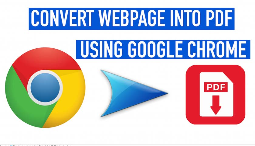 How to Save a Web Page to PDF on Chrome Without Extension