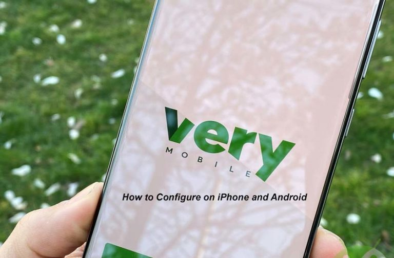 APN Very Mobile   How to Configure on iPhone and Android