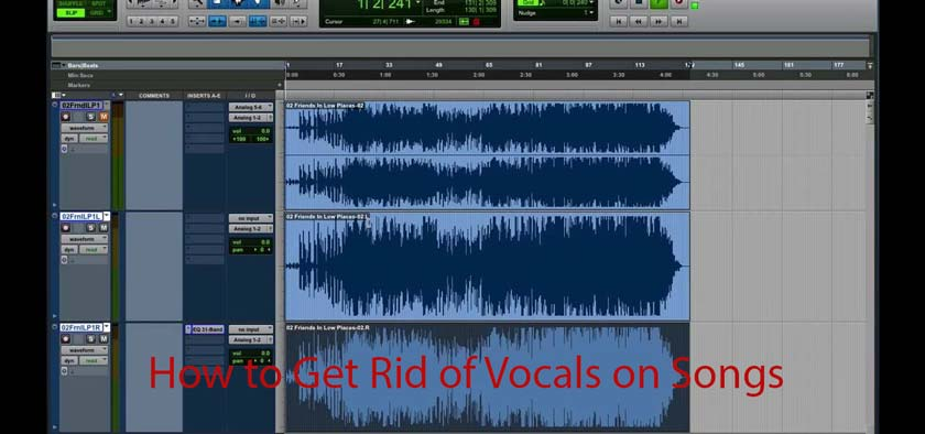 How to Get Rid of Vocals on Songs