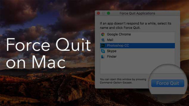 How to Quit Programs on Mac | All Methods
