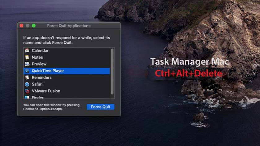 Open Task Manager on Mac – How to Force Close Mac Applications?