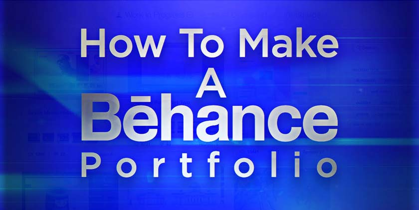 How to Create an Online portfolio Using Behance
