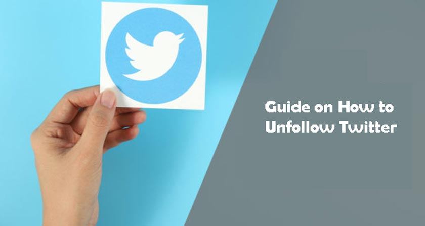 Guide on How to Unfollow Twitter
