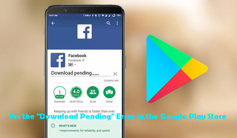 """Google Play Waiting for Download 