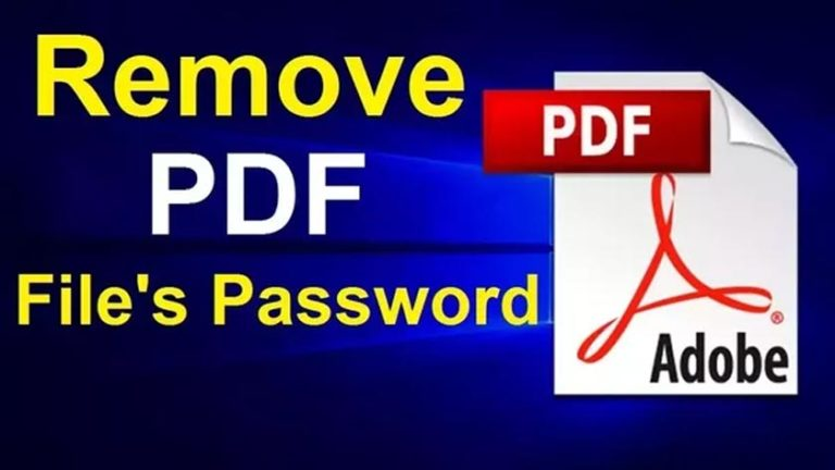 How to Get rid of PDF Passwords