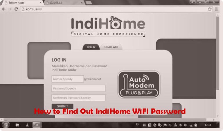 How to Find Out IndiHome WiFi Password