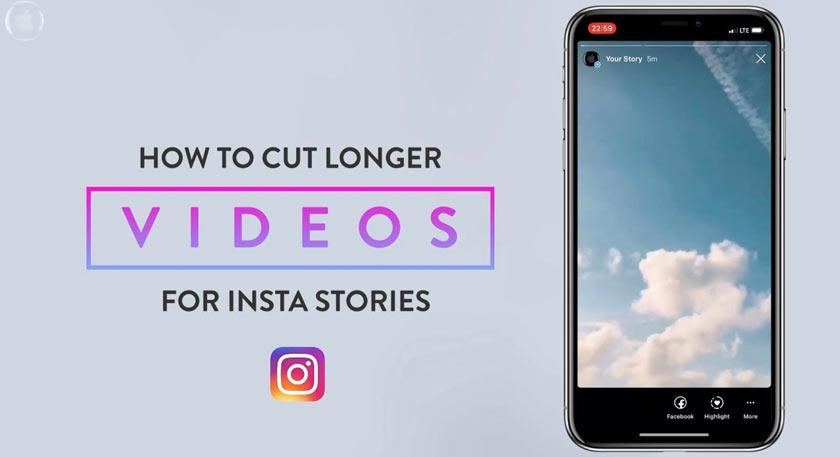 How to Cut Videos on Instagram for Stories easily!