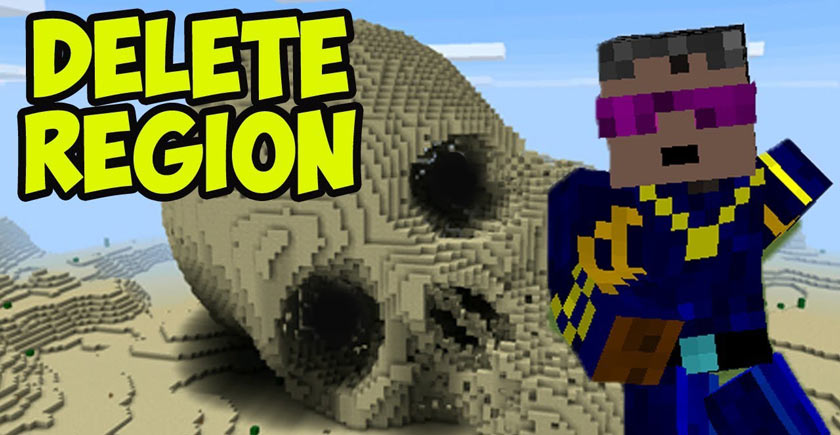 How to Delete the Region in the Minecraft