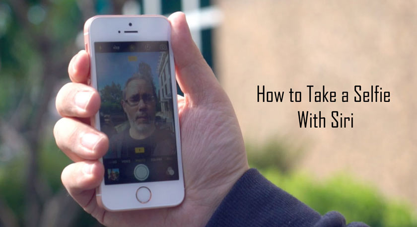 How to Take a Selfie With Siri