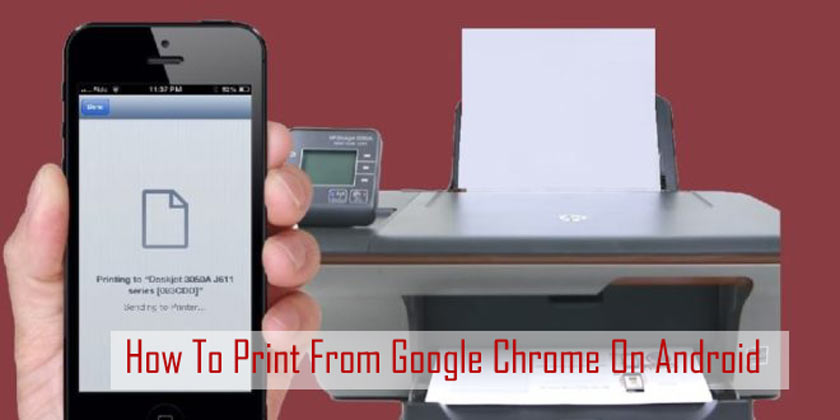 How To Print From Google Chrome On Android