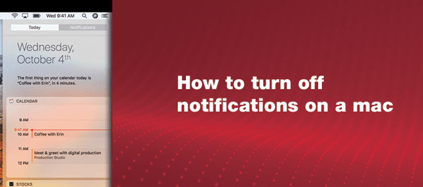 How to Disable Annoying Mac Notifications