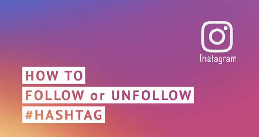 How to Follow and Unfollow Instagram Hashtags on iPhone